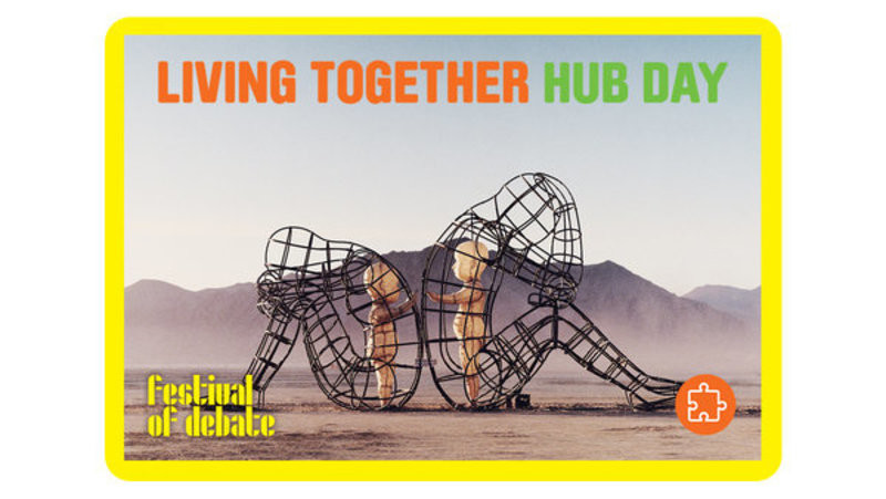 Header display living together hub day
