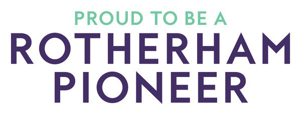 Display proud to be a rotherham pioneer logo  2