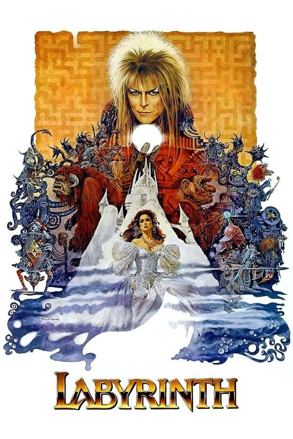 Display labyrinth poster